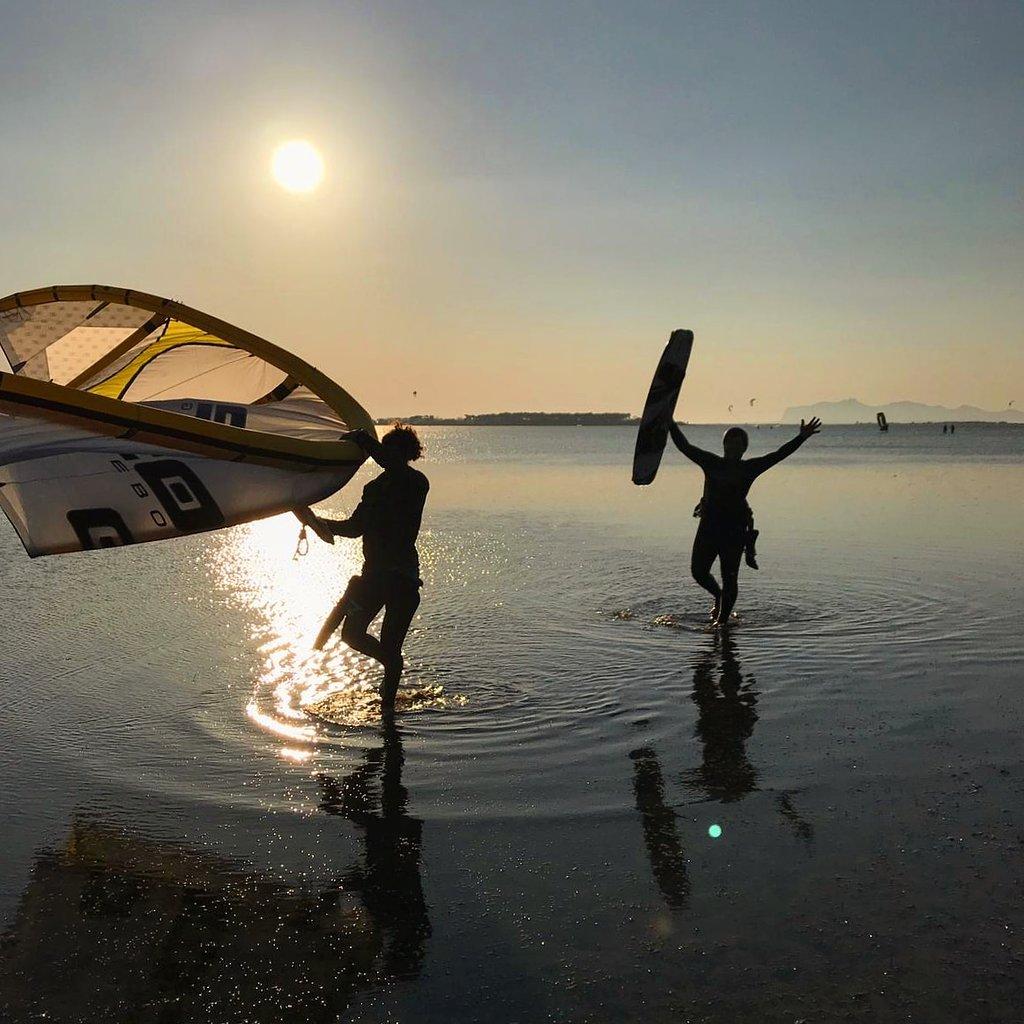La laguna dello Stagnone spot kite