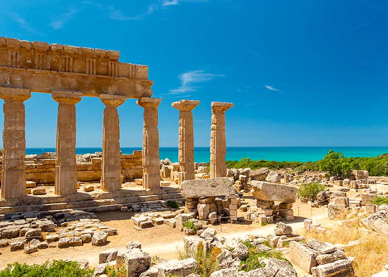 Selinunte bellezze della Sicilia