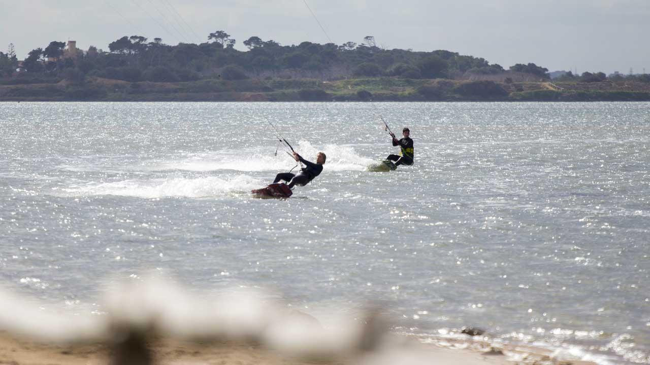 Corso di kitesurf condiviso Stagnone