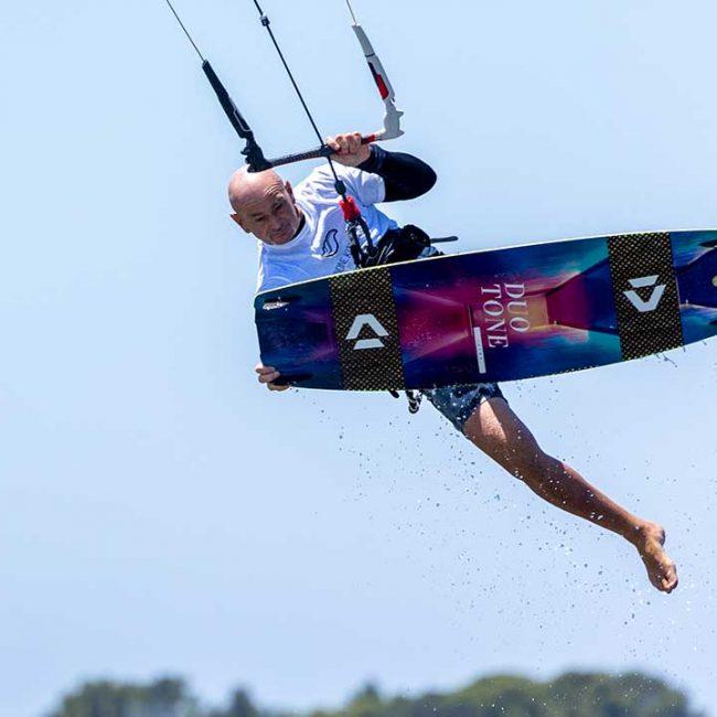 Allenamento kitesurf